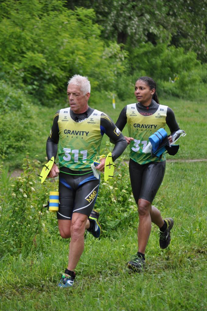 Gilles et Gladys en équipe